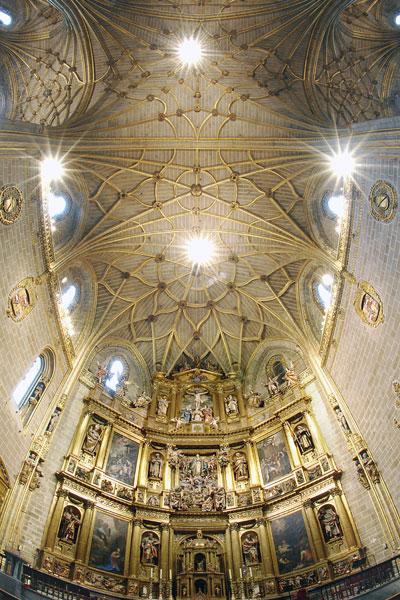 Interior de la Catedral del Plasencia