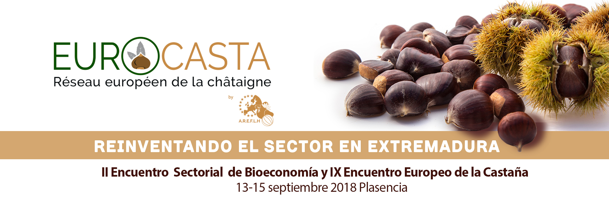 IX Encontro Europeu de Castanha - 13, 14 e 15 de setembro de 2018