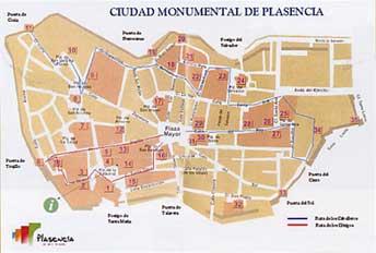 Plasencia. Ciudad Monumental